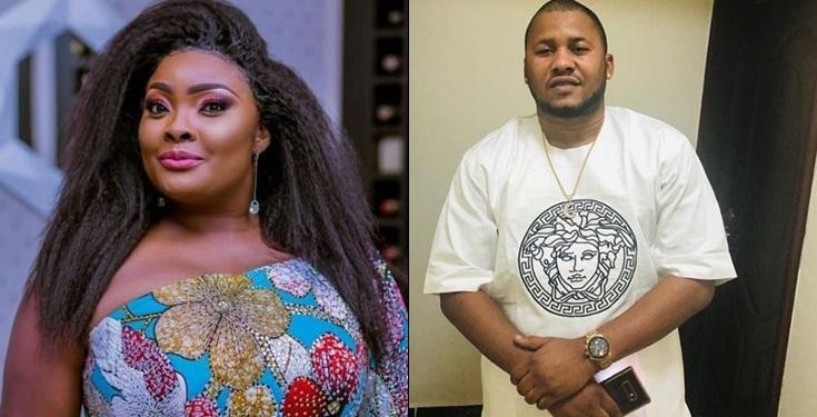 Ronke Odusanya flaunts secret lover, Don Jago