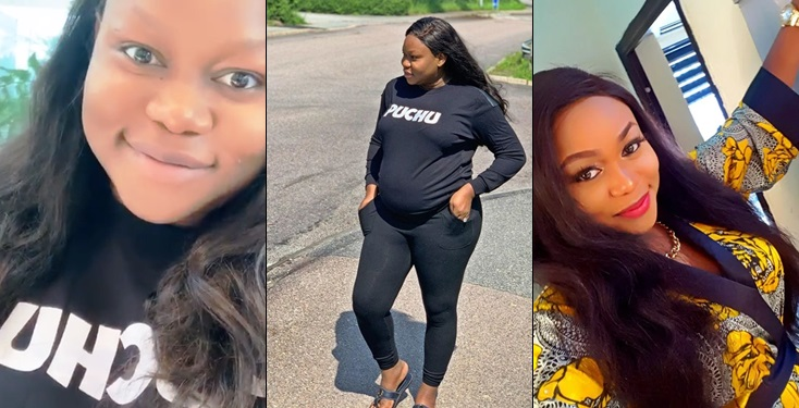 Ruth Kadiri Flaunts Pregnancy In New Video and Photo