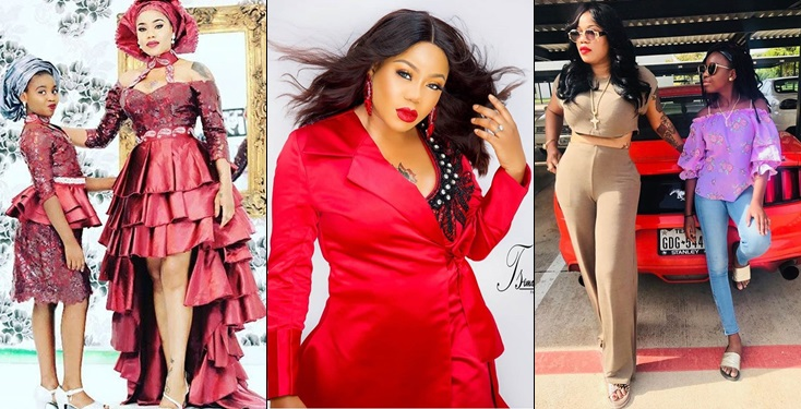 Toyin Lawani Exposes DMs Old Men Sent To Her Daughter