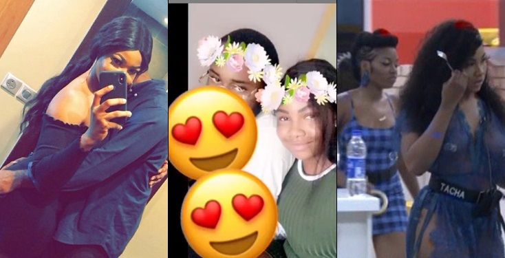 BBNaija: Tacha Surprises Boyfriend By Doing This To Him In House