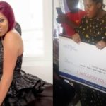 Toyin Abraham Gets N1million From Fans On Her Birthday