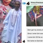 Nigerian man dies after stepping on charm