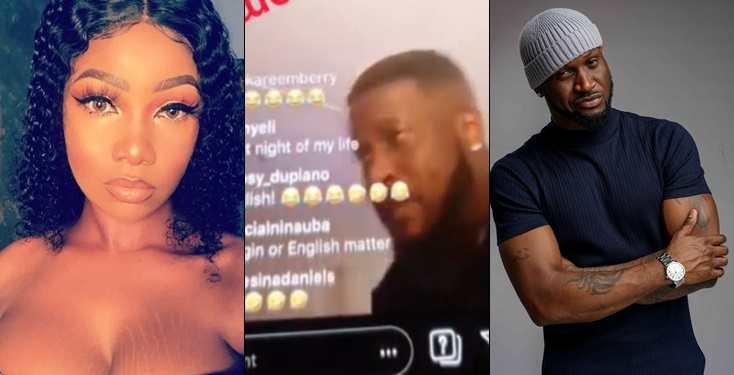 Peter Psquare denies Tacha, says he never promised to give Tacha 60Million