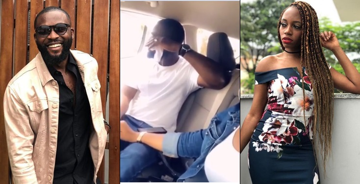EX BBNaija's Gedoni and Khafi Unfollows each other, Gedoni spotted with another lady