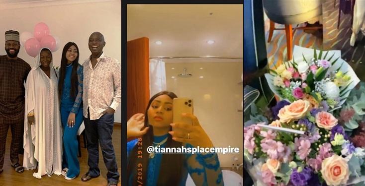 Jaruma, Others Stomp  Regina Daniels' birthday in Dubai (Photos)