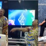 Nkechi Blessing cries as she celebrates Mercy's victory.
