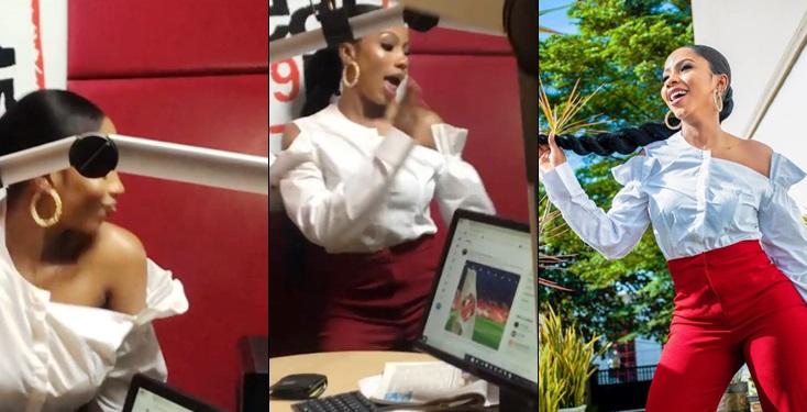 Mercy Lambo Brings BBNaija's Party To Beat FM As She Twerks Rigorously