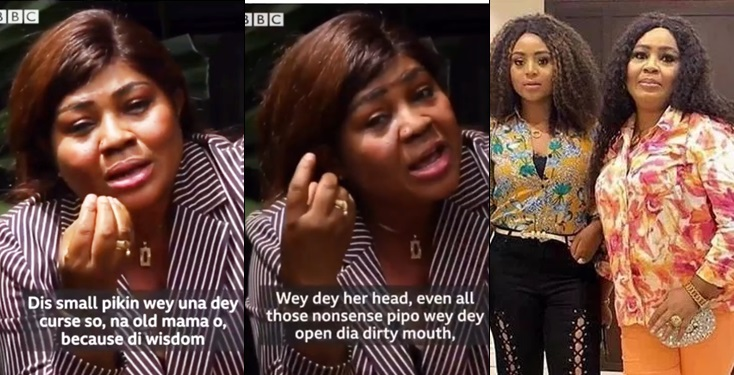I used My Wisdom To Ensure My Daughter Married An Old Man- Regina Daniels' Mom Tells  BBC