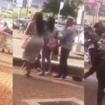 Main Chick beats up her boyfriend's Side Chick (Video)