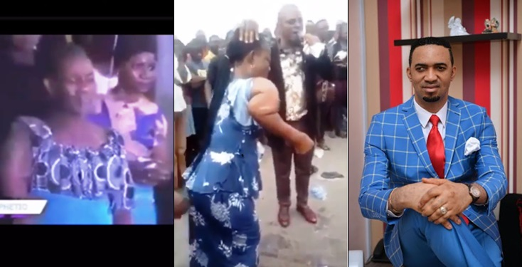 Confusion as two pastors allegedly use same woman for same miracle (videos)