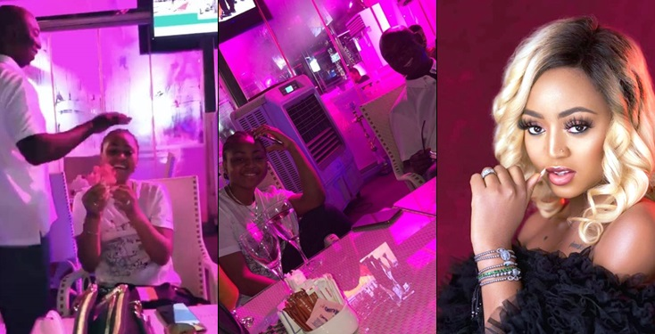 Ned Nwoko Surprises Wife Regina Daniels on her Birthday (Videos)