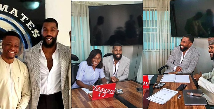 Banky W Signs Ex-Big Brother Naija Housemate; Mike & Wife To EME