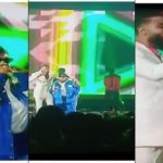 """Moment BBNaija's Mike And Teni Performed """"Case"""" At The Headies Awards"""