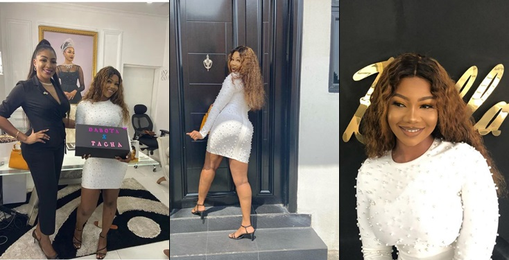 Tacha shares photos as she bags mouth-watering endorsement deal with Dabota Cosmetics (Video)