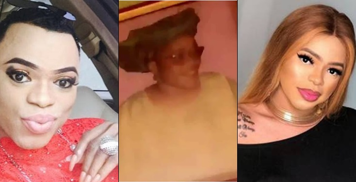 How my mother transformed me to a woman- Bobrisky