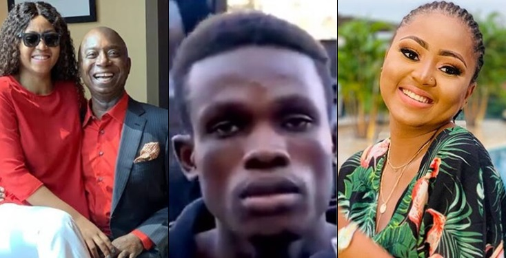 Man hired to assassinate Regina Daniels finally arrested by the police
