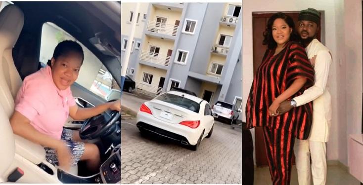 Toyin Abraham Gifts Self Multimillionaire Benz