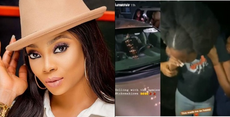 Toke Makinwa surprises her Personal Assistant with a car gift (video)