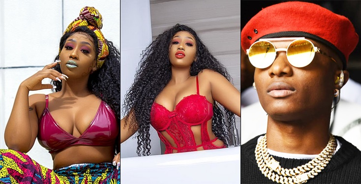 I Can Sleep With Whoever – Viktoria Kimani Says After Being Accused Of Sleeping With Wizkid