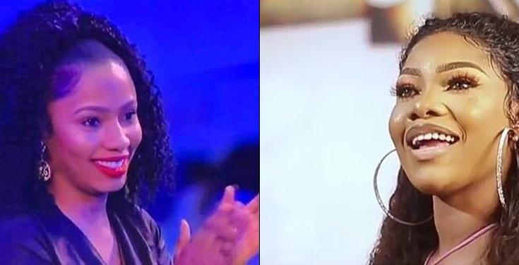 #BBNaijaFinale: Mercy I truly admire you- Tacha celebrates Mercy