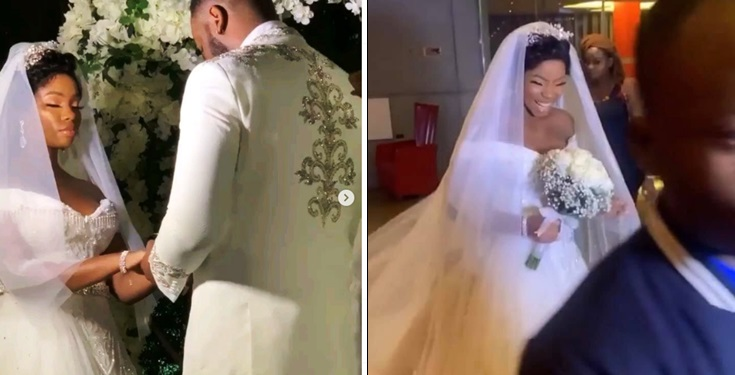 #BamTeddy: Stunning Video and Photos from BamBam and Teddy A's white wedding in Dubai