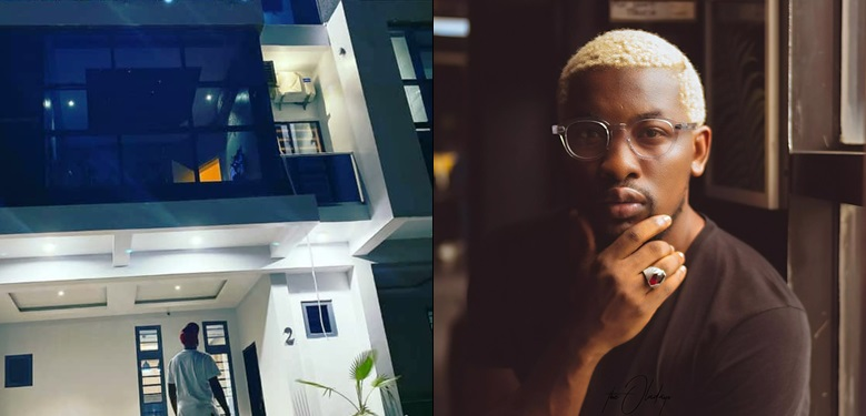 OAP Dotun shares photo of his newly acquired house, slams troll who insinuated its not from his proceed as an OAP