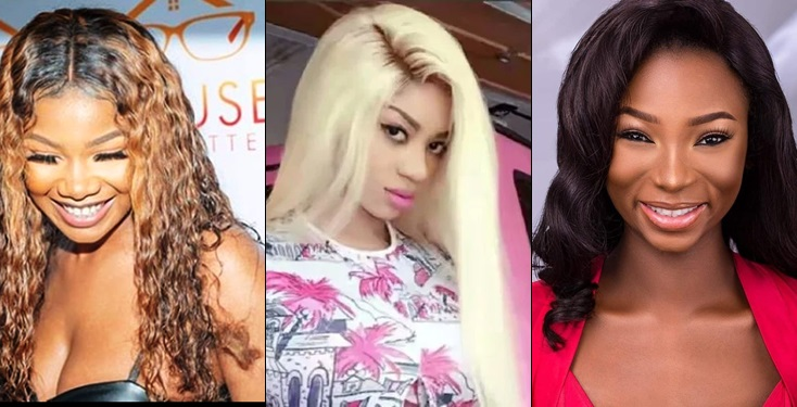 Jaruma and Dencia blast Tacha's fans, says they are poor and brainless
