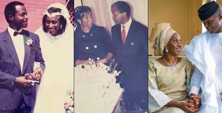 Vice President Yemi Osinbajo and wife celebrate 30th wedding anniversary