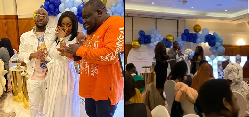David And Chioma Hold Naming Ceremony Of Newborn Son David Jnr. Ifeanyi Adeleke (Photos)
