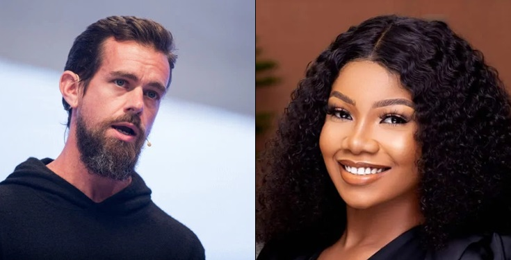 Twitter CEO, Jack Follows Tacha On Twitter As The Second Nigerian After Genevieve Nnaji