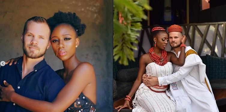 Nigerian Dancer Korra Obidi and hubby celebrate wedding anniversary (Photos)