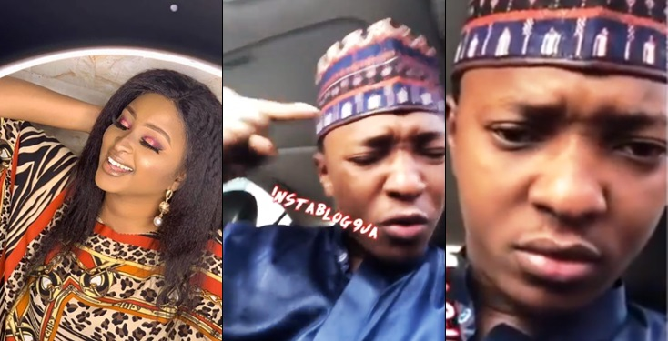 Islamic poet dares actress Etinosa to make good her threat to use the Quran as ashtray like she did the Bible (Video)