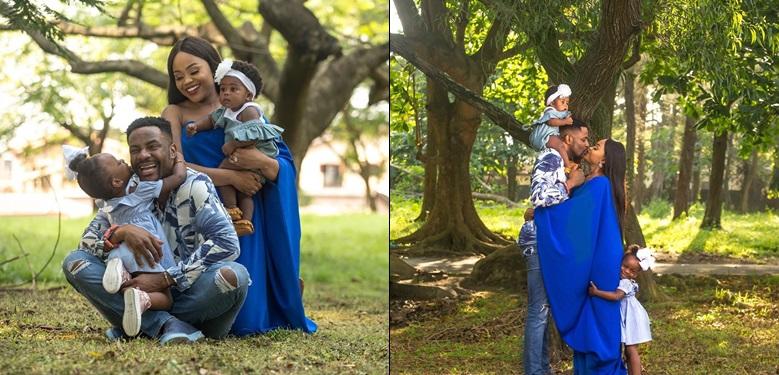 'Family is everything' – Ebuka Uchendu and wife share adorable family photos