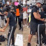Xavier Young, Marjorie, Man, Girlfriend, Propose, Protest, BlackLivesmatter, News, breaking news, latest news, Nigeria news, naija news, trending news, bbc news, vanguard news today, davido