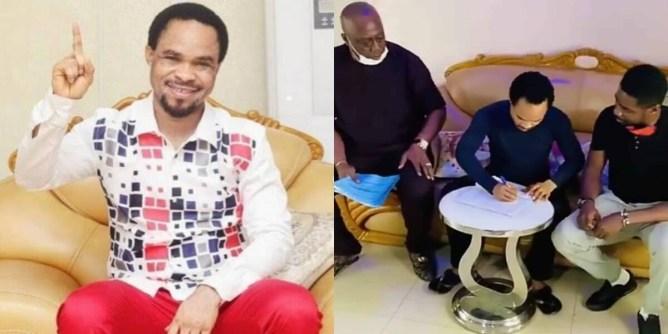Prophet Odumeje, Ambassador, Liquid Metal, Nigerian Pastor,News, breaking news, latest news, Nigeria news, naija news, trending news, bbc news, vanguard news today, davido