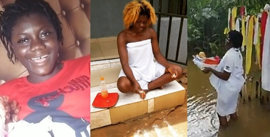 "News, breaking news, latest news, Nigeria news, naija news, trending news, bbc news, vanguard news today, davidoBREAKING: aDavido ""I Am An Antichrist, A Water Goddess, I Denounced Christianity Long Ago"" – Nigerian Lady Says (Video)"