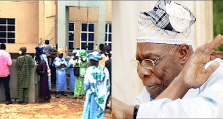 NAIJA GIST TODAY,NIGERIAN CELEBRITY GISTS ,LATEST NEWS,NIGERIAN MUSICIANS ,LATEST NEWS,NIGERIAN MUSIC INDUSTRY ,LATEST NEWS,MUSICIANS, News, breaking news, latest news, Nigeria news, naija news, trending news, bbc news, vanguard news today, regina Daniels, Covid-19: Drama as former president Obasanjo allegedly locks out mourners at mother in-law's burial