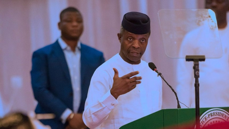 """""""Be problem solvers,"""" VP Osinbajo Challenges Nigerian Youth"""
