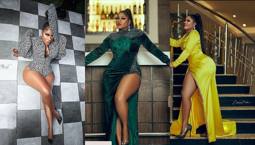 I have fire in my soul - Destiny Etiko dazzles in royalty styled outfits as she celebrates 31st birthday (Photos)