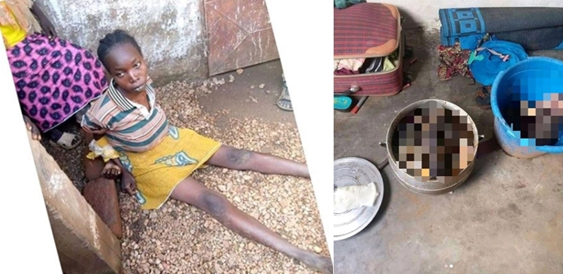 Cameroonian Mom allegedly chops her two children into pieces, cooks them