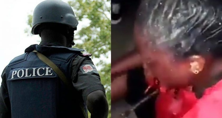 Lagos Police Command reveals identity of policeman who shot lady in mouth [VIDEO]
