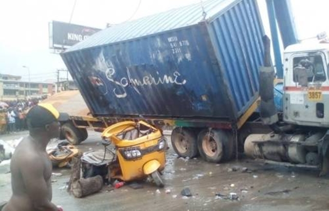 Newly Married Woman, Three Others crushed To Death by truck In Kaduna
