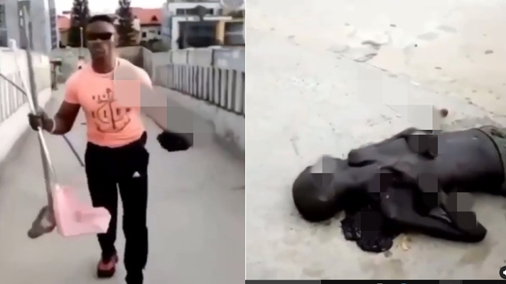 Dead body abandoned in Lekki after Tollgate shooting discovered by a cleaner
