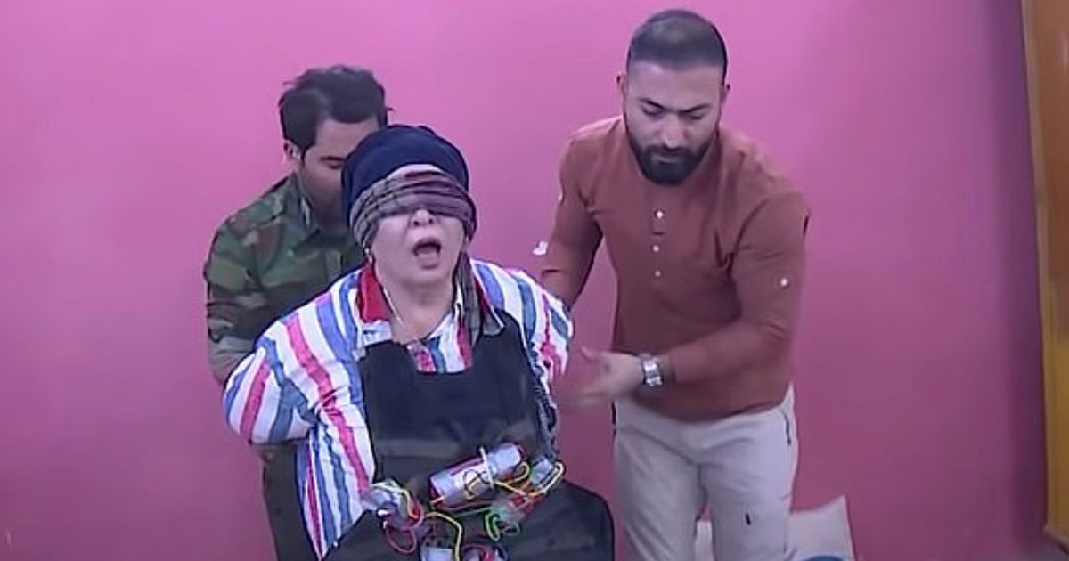 Fake ISIS jihadis strap 'suicide vests' to terrified celebrities in sick TV prank