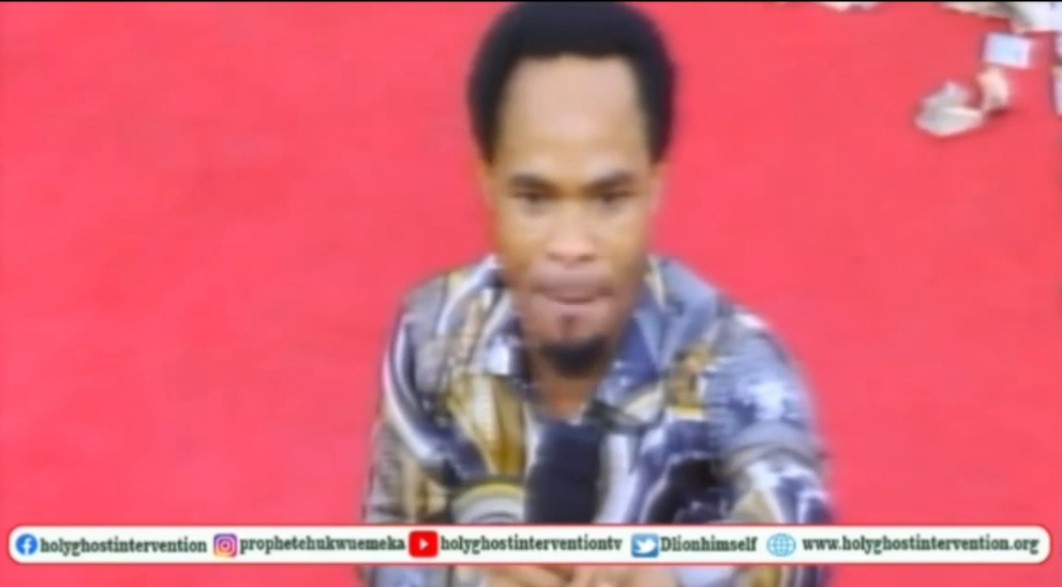 No one stops me when I begin a fight - Clergyman Prophet Odumeje vows to come for people accusing him of parading fake miracles in his church (video)
