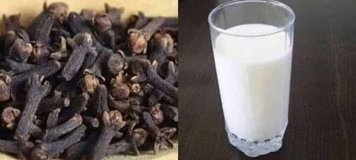 SURPRISING HEALTH BENEFITS OF FRESH MILK AND CLOVE