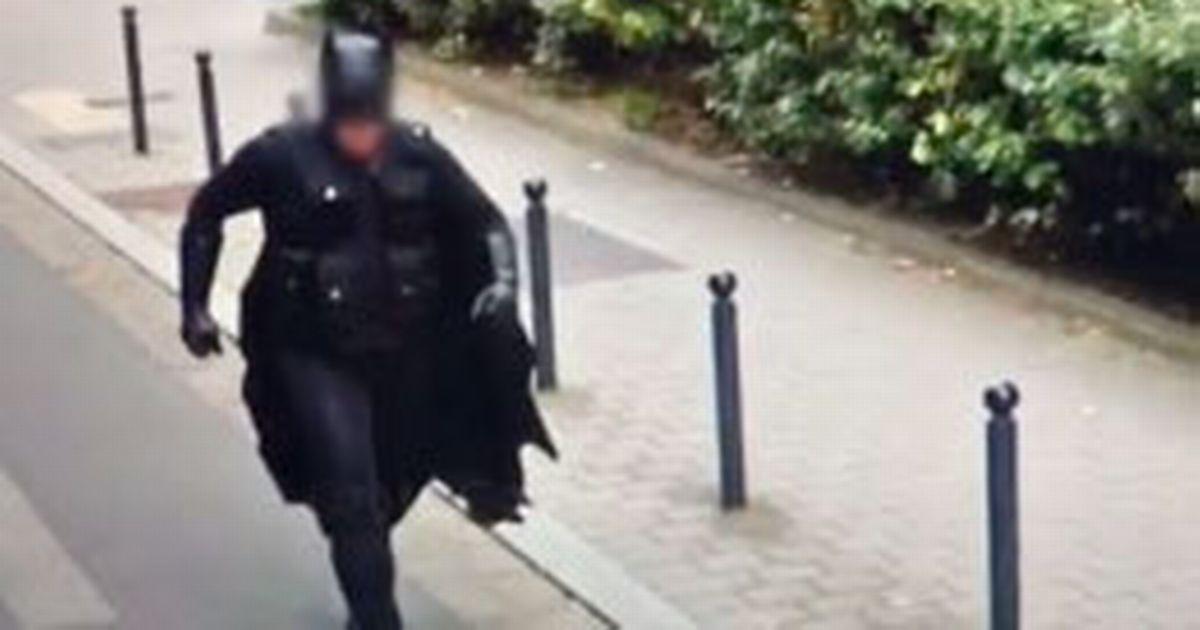 Google Maps user baffled after spotting 'Batman' running on street in broad daylight