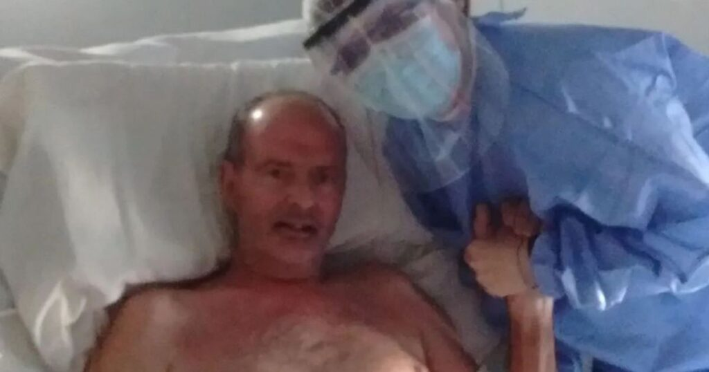 Man who died of Covid 'for minutes' says what you see after death 'not what you think'