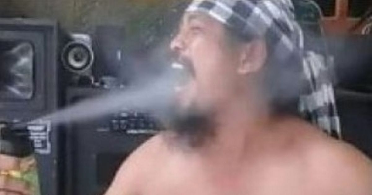 Viral guru who sprayed insecticide into his mouth while dancing topless dies