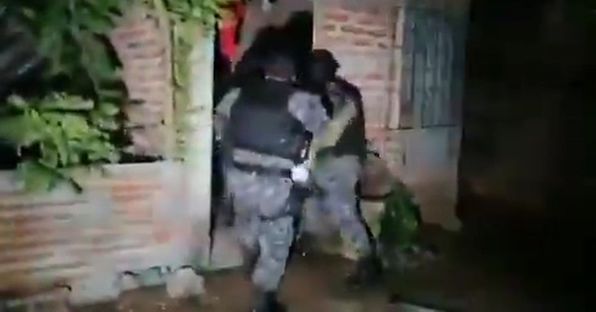 Special forces strike blow against notorious MS-13 gang 'planning 17 assassinations'